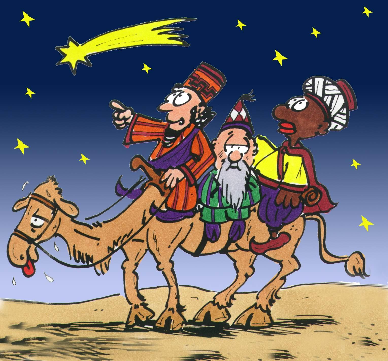 Die Weisen folgen dem Stern