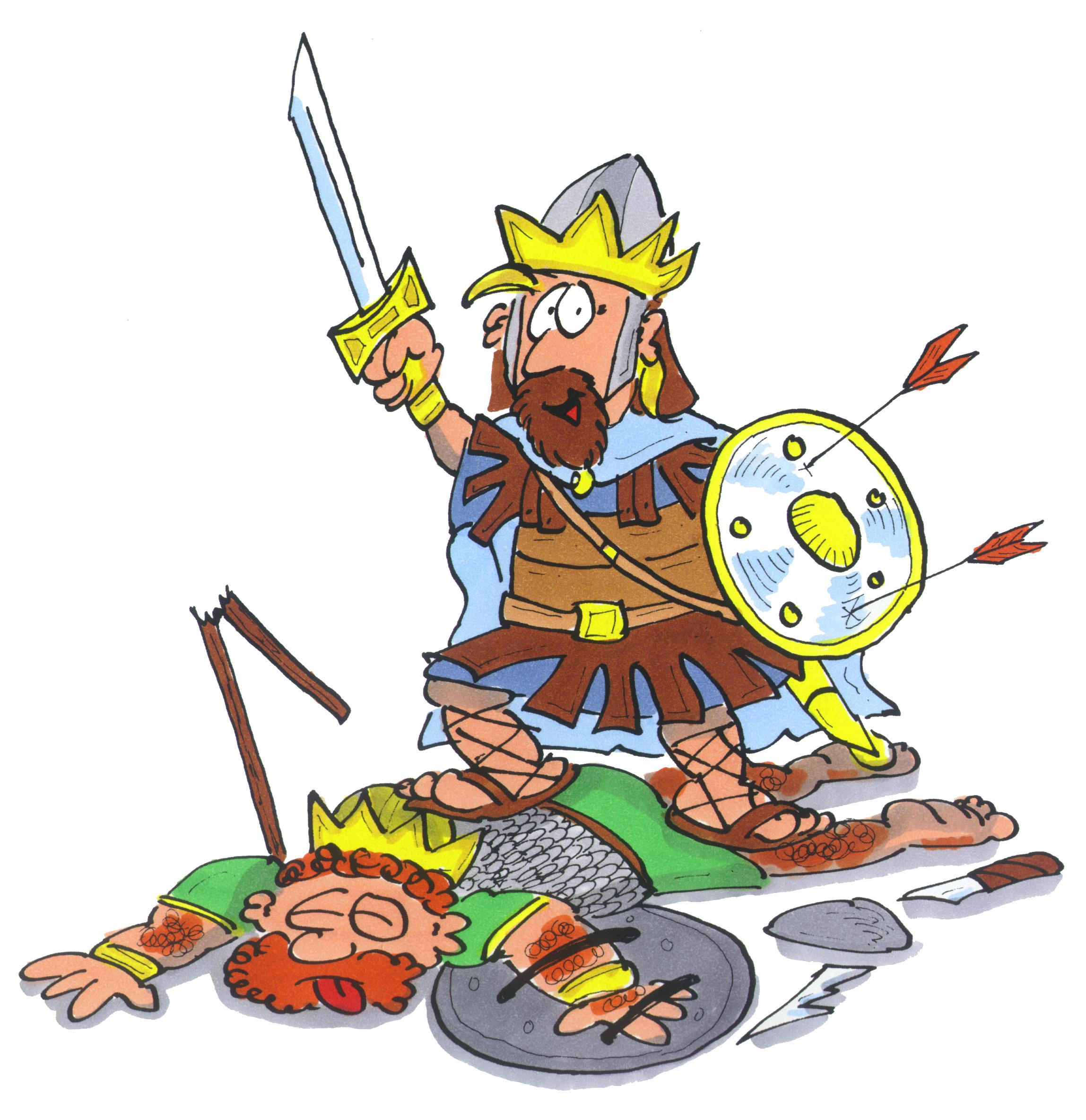 David besiegt die Edomiter