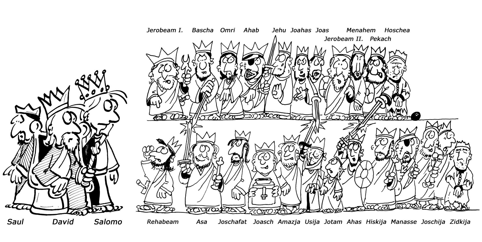 Die Könige Israels und Judas