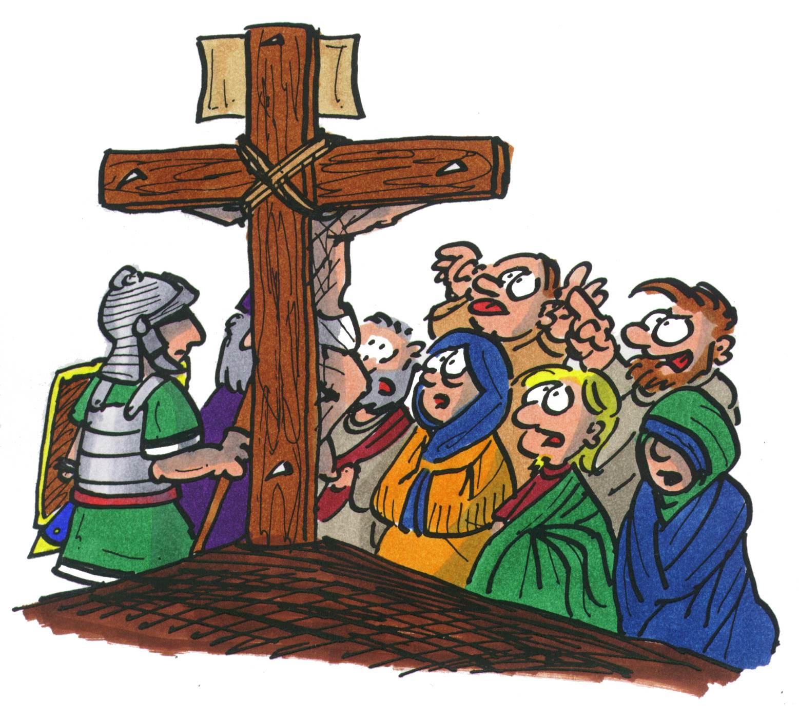Unter dem Kreuz