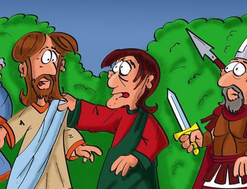 Jesus verbindet Wunden